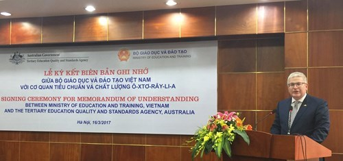 Australia supports Vietnam's online education hinh anh 1