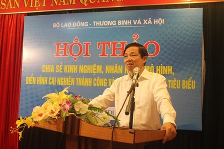 Conference shares successful drug recovery models hinh anh 1