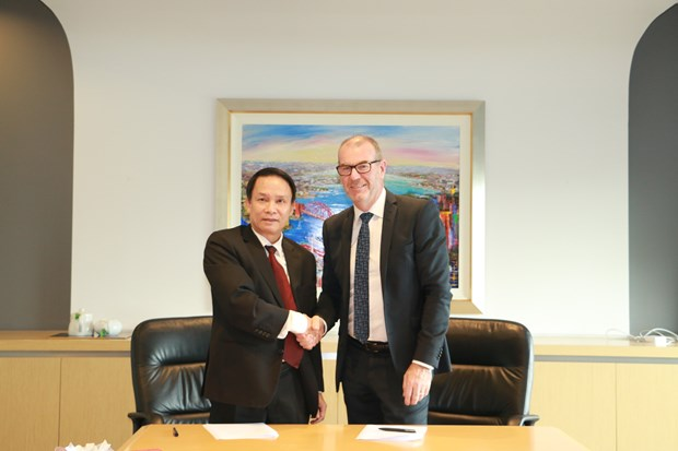 Vietnam News Agency boosts cooperation with Australian media hinh anh 1