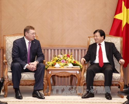 Vietnam, Russia foster oil, gas cooperation hinh anh 1