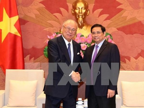 Vietnamese parliamentarians treasure friendship with Japan hinh anh 1