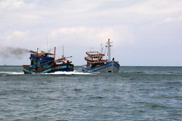Vietnamese fishermen saved in Gulf of Thailand hinh anh 1