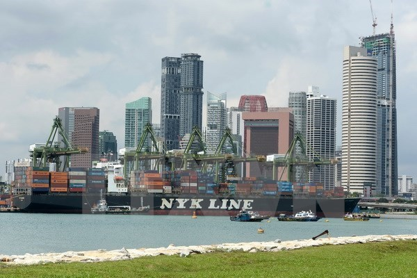Singapore: Export value hits five-year record hinh anh 1