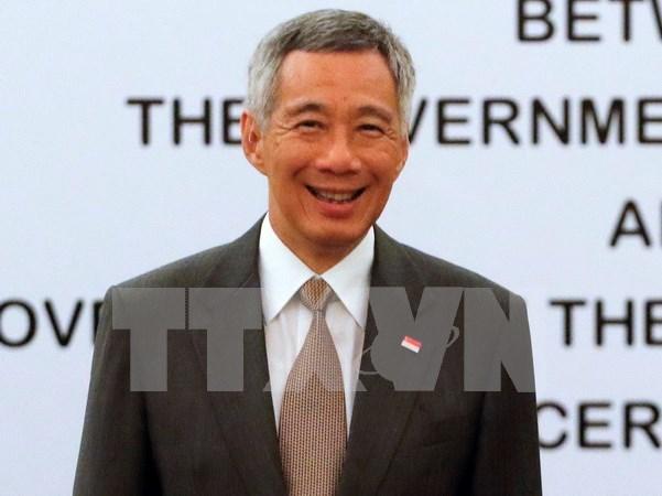 Singapore Prime Minister to visit Vietnam hinh anh 1