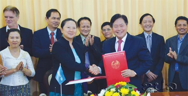 UNICEF provides Laos with 7.2 m USD for health, nutrition work hinh anh 1