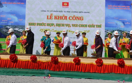Construction begins at big service-entertainment complex in Kien Giang hinh anh 1