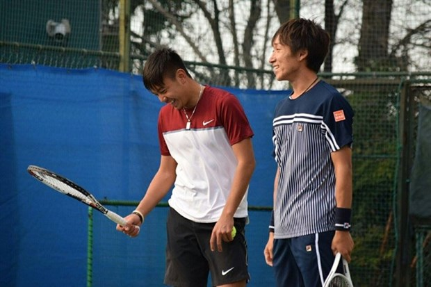 Tennis: Vietnam's representative ousted in Japan F2 event hinh anh 1