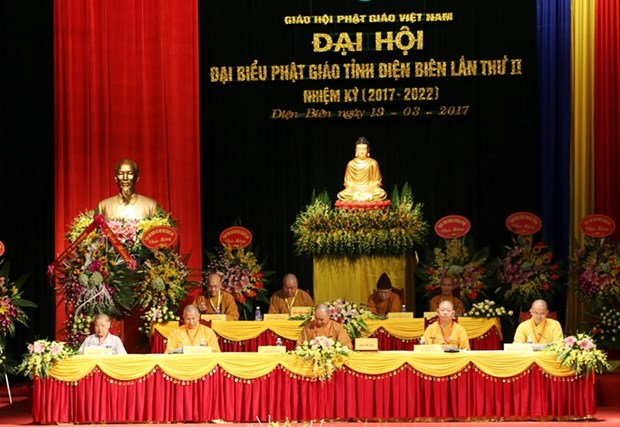 Buddhist Sangha's Dien Bien chapter convenes congress hinh anh 1