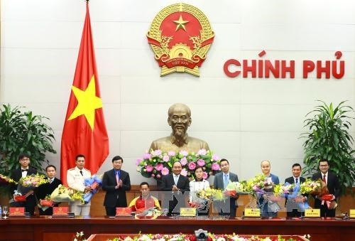 PM promises optimal support to young talents hinh anh 1