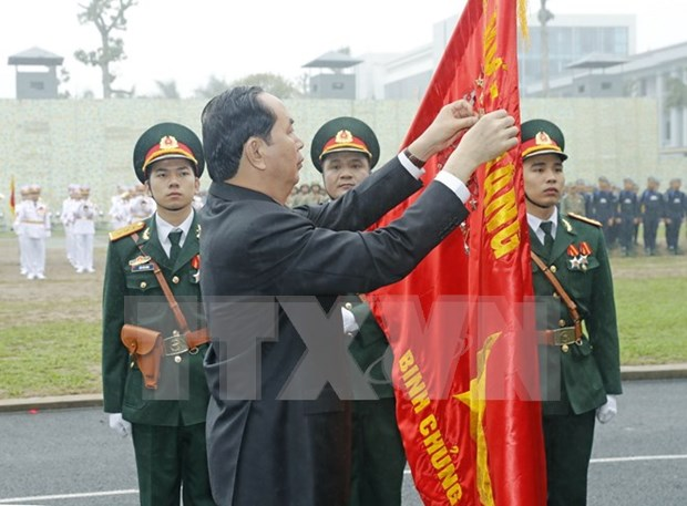 President commends Commando Arm on 50th founding anniversary hinh anh 1