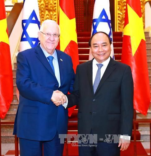 Israeli President wants to expand cooperation with Vietnam hinh anh 1