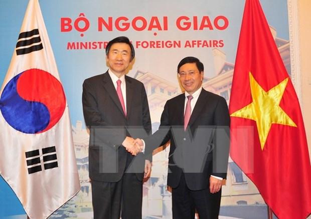 Vietnam, RoK further strategic cooperative partnership hinh anh 1