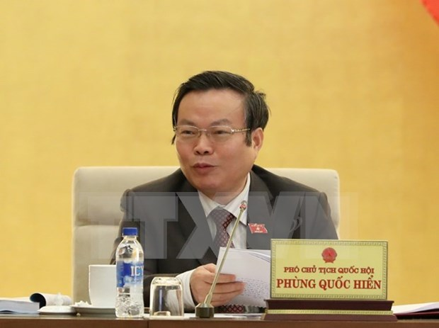NA discusses draft Law on Public Debt Management hinh anh 1