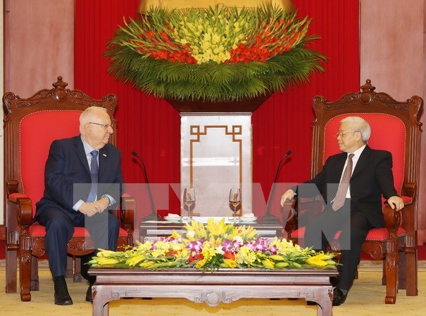Party leader: Vietnam treasures multifaceted ties with Israel hinh anh 1