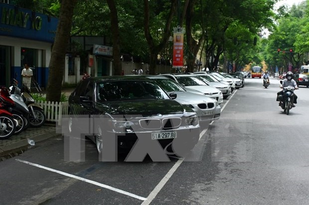 Hanoi to pilot automated street parking hinh anh 1