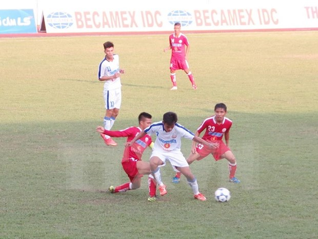 National U-19 football championship takes place in Binh Dinh hinh anh 1