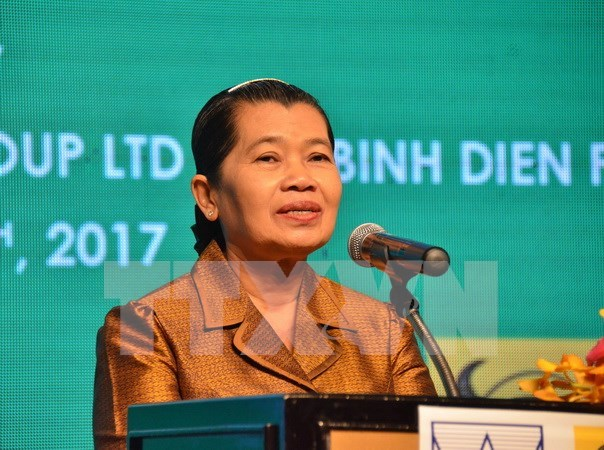 Vietnamese firm contributes to Cambodia's agriculture development hinh anh 1
