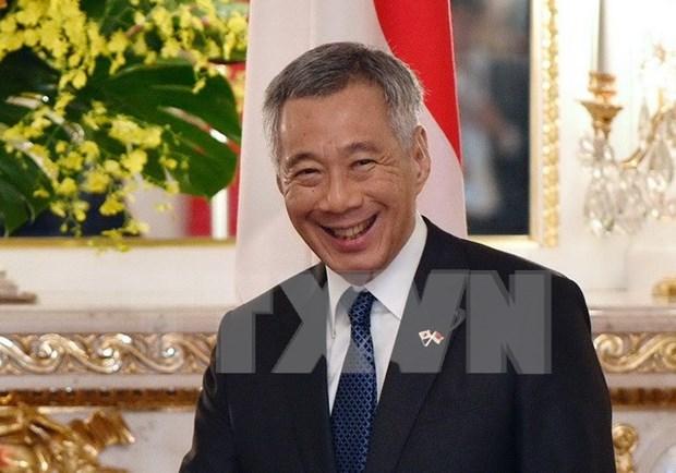 Singaporean PM begins Vietnam visit hinh anh 1
