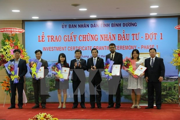 Binh Duong takes lead in foreign investment attraction hinh anh 1
