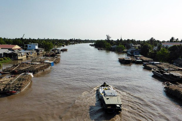 Seminar explores causes of subsidence in Mekong Delta hinh anh 1