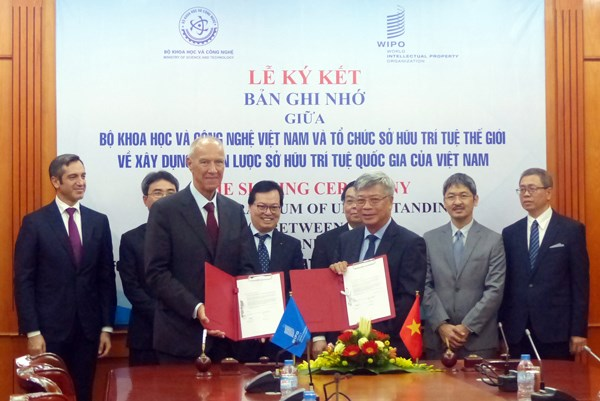 WIPO helps Vietnam build national strategy on intellectual property hinh anh 1