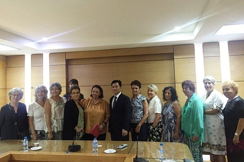 VUFO hopes to strengthen ties with Argentine cultural institute hinh anh 1