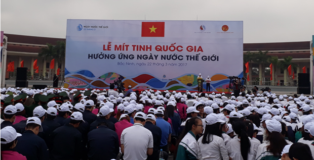 National meeting marks World Water Day hinh anh 1