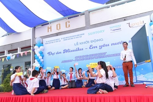 Japanese water education programme launched in Ben Tre hinh anh 1