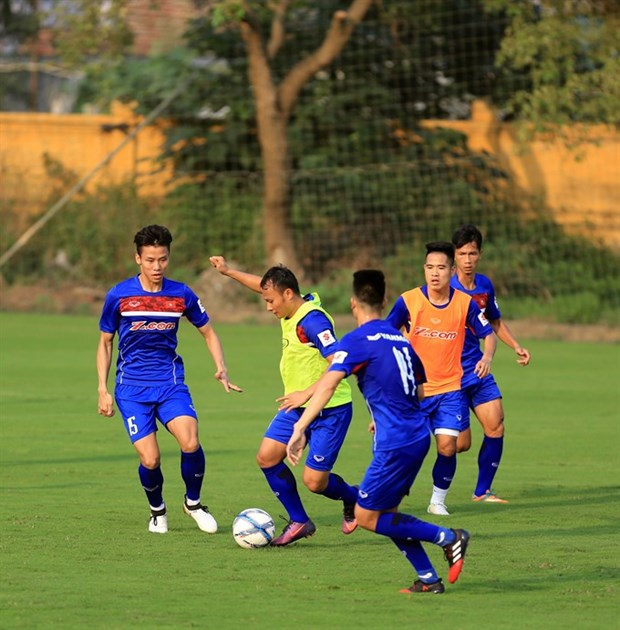 Vietnam, Chinese Taipei warm-up for Asian Cup hinh anh 1