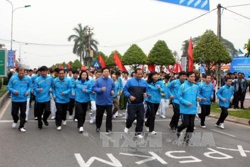 Thousands of people to join Olympic Run Day hinh anh 1