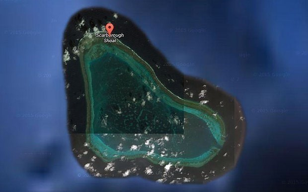 Philippines plans protest against China's Scarborough construction hinh anh 1