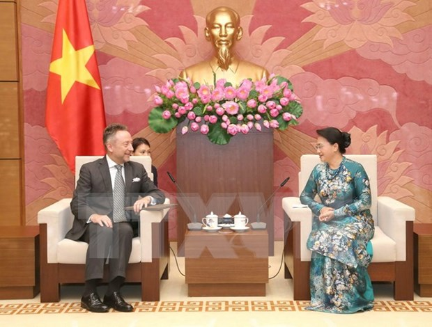 National Assembly leader meets with Czech ambassador hinh anh 1