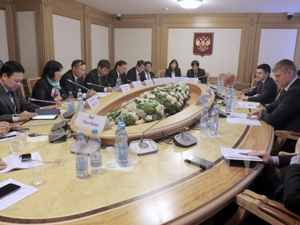 Vietnam boosts relations with Russia hinh anh 1