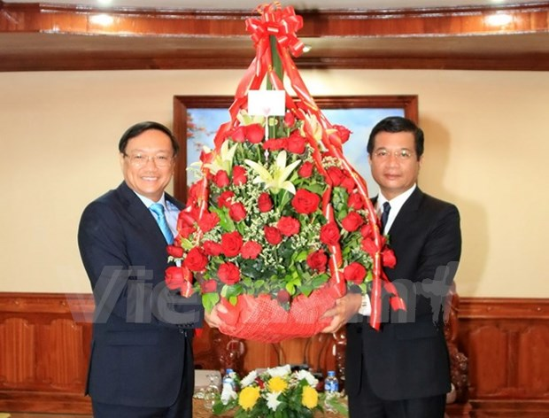 Vietnam congratulates LPRP on 62th founding anniversary hinh anh 1