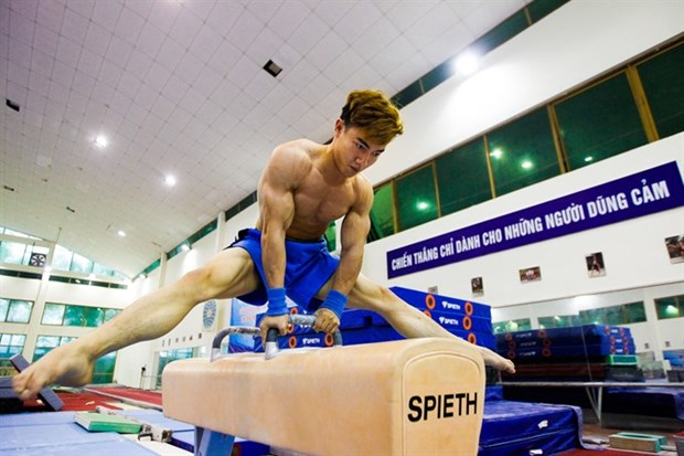 Vietnamese gymnasts to compete at Doha World Cup hinh anh 1