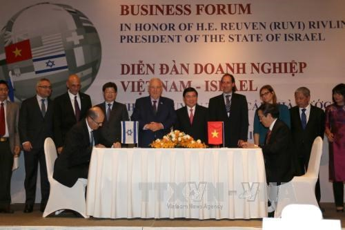 HCM City partners with Israeli firms to improve business climate hinh anh 1