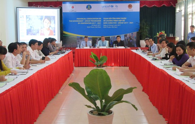 UNICEF helps Ninh Thuan mitigate disaster risks hinh anh 1