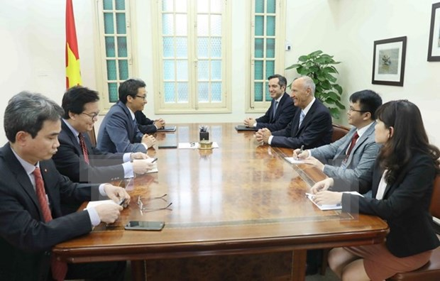 Vietnam looks to expand cooperation with WIPO hinh anh 1
