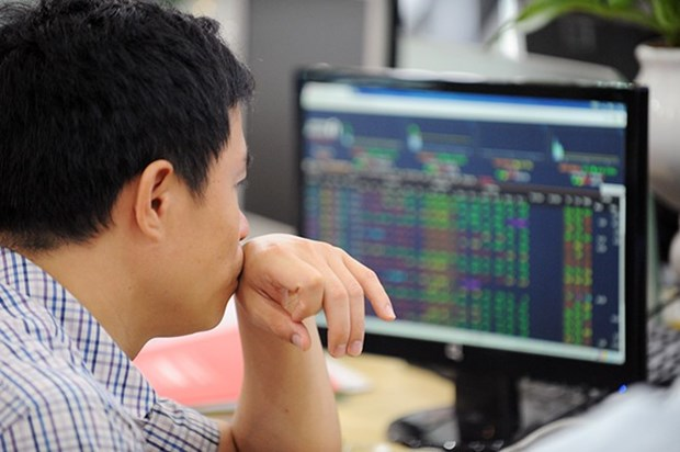Banks push VN Index to new high hinh anh 1