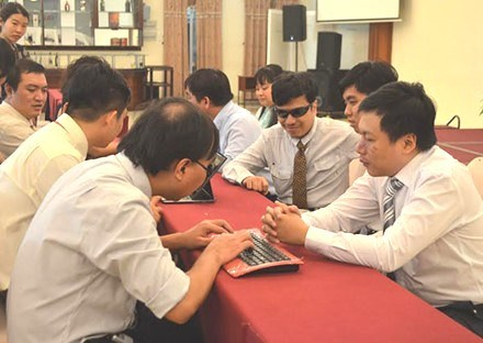 Computing education programme to support the blind hinh anh 1