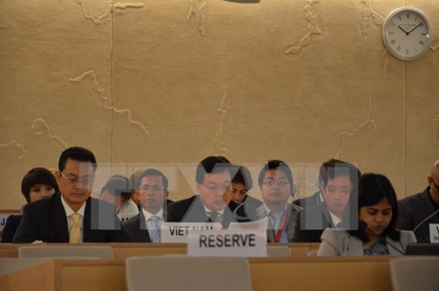 Vietnam attends UN Human Right Council's 34th session hinh anh 1
