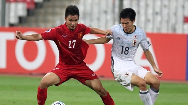 U20 Vietnam striker featured on FIFA website hinh anh 1
