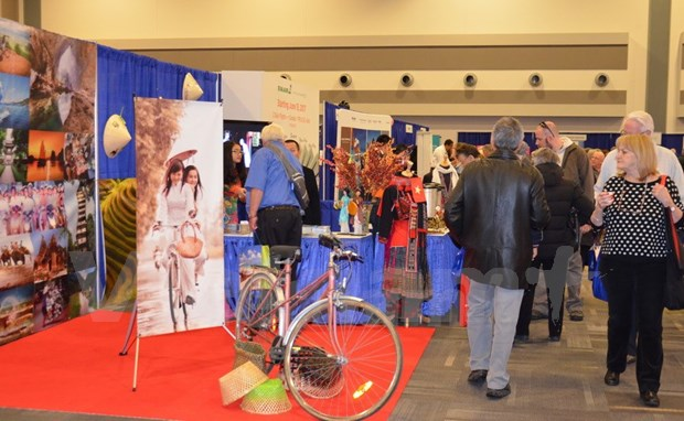 Vietnam attends travel show in Canada hinh anh 1