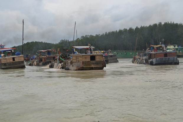 Four sand mining projects suspended in Dong Nai hinh anh 1