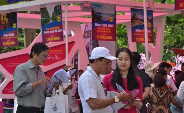 HCM City Tourism Festival draws 350,000 visitors hinh anh 1