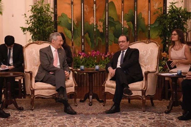 Singapore, France boost innovation cooperation hinh anh 1