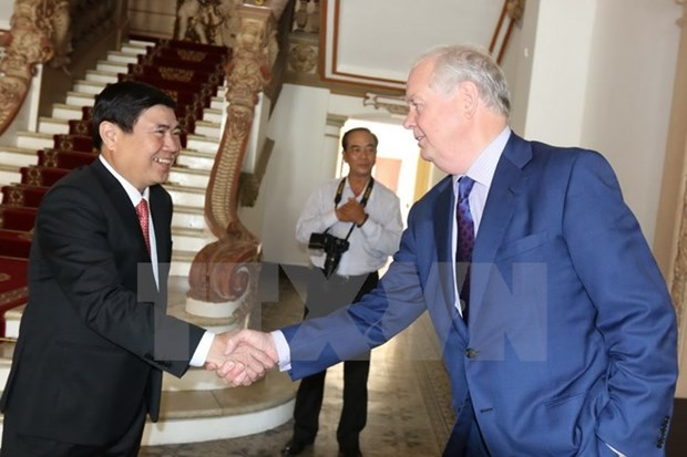HCM City leader vows support for Fulbright University project hinh anh 1
