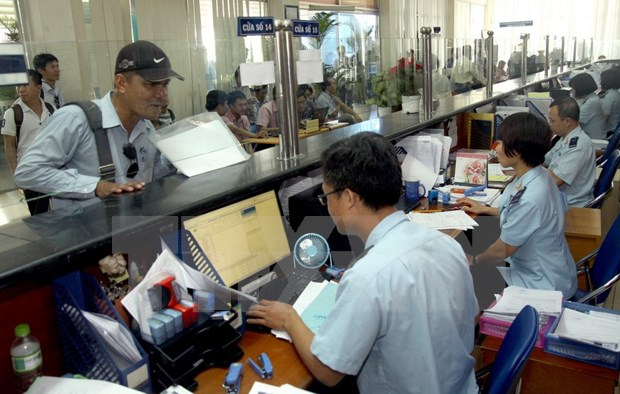 Hanoi Customs: online public service recorded efficiency hinh anh 1