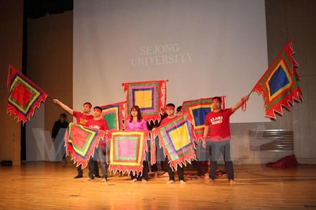 Vietnam cultural night livens up Sejong University hinh anh 1