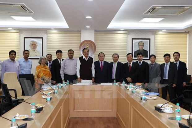 Vietnam, India hold potential in press, broadcasting cooperation hinh anh 1